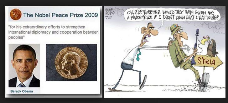Obama nobel price