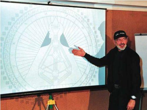 Ra Uru Hu, de man die het Human Design'-systeem op een mystieke wijze kreeg aangeboden. Hij veranderde op slag van wars van elke autoriteit, naar de meest nederige persoon op Aarde..