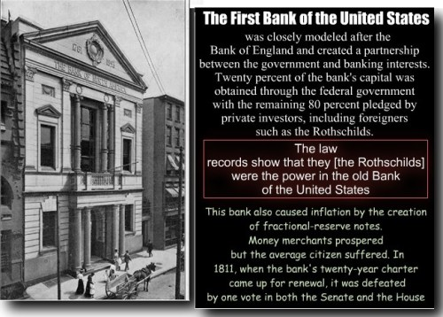 Rothschild bank in de VS
