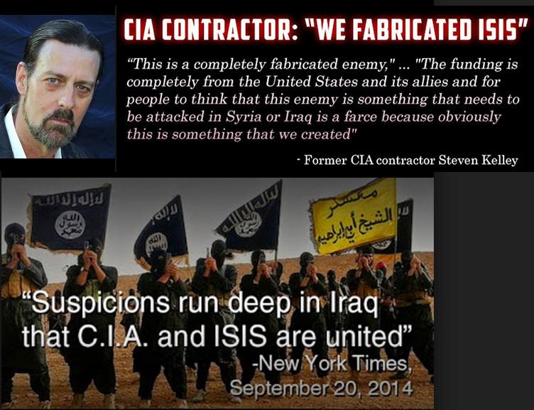 Tja, als de klokkenluiders al van binnen de organisatie lekken en vertellen wat en wie ISIS/IS/ISIL is.. Wat is dan de krankzinnige gedachte dat we deze mensen NIET zouden geloven en de officiële kanalen wel..!! (klik voor artikel!)