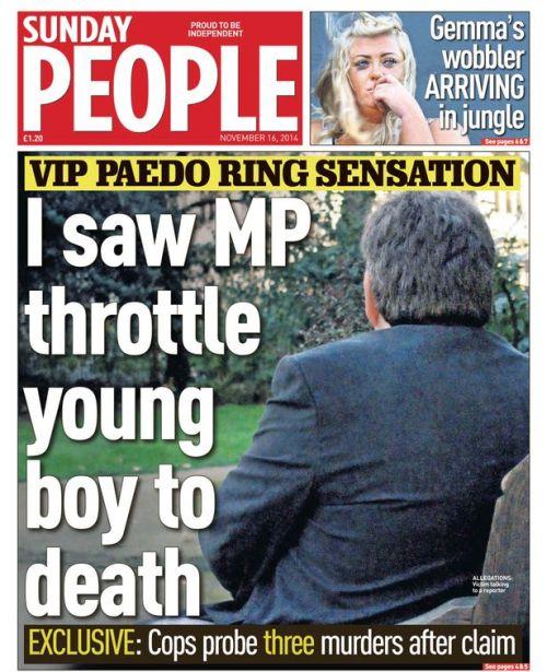 Westminster-Peadophile
