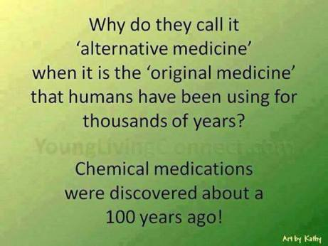 alternative chemical medications