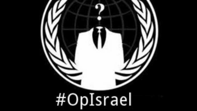 anonymous israel hacking april 2014