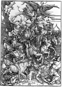 De Apocalyps; een kosmisch gevecht tussen 'geest' en 'stof'