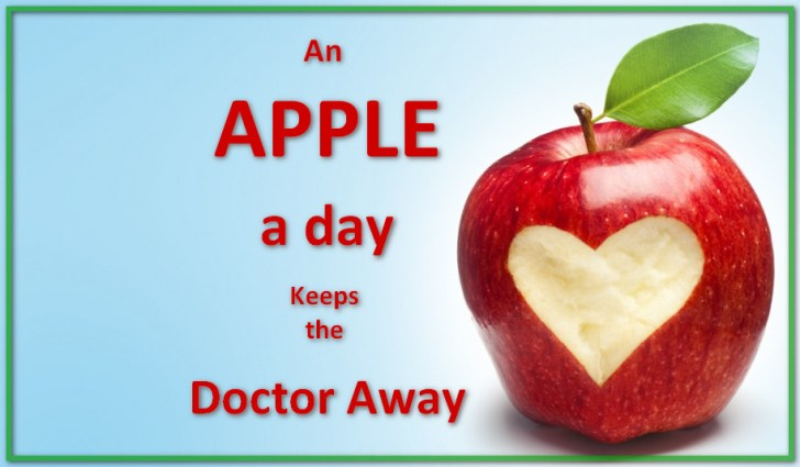 apple a day doctor away