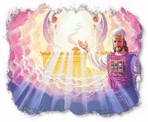 God zit niet op een wolk
