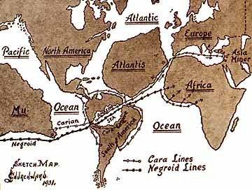 atlantis oude map