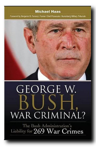 bush war criminal boek haas