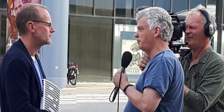 Ad Broere interviewt dr. Coen Vermeeren, na afloop van de uiterst geslaagde 9/11-congresdag, op 10 september jl.