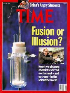 Fleischmann en Pons haalden met hun experiment in 1989 de cover van TIME-magazine.