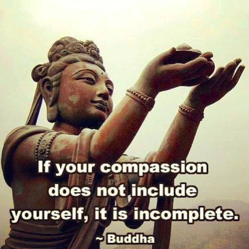 compassion for self buddha