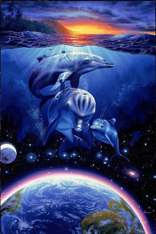Het zijn met name de walvissen en dolfijnen, de zogenaamde Ceteans, die de nieuwe kosmische invloeden op Aarde helpen integreren.