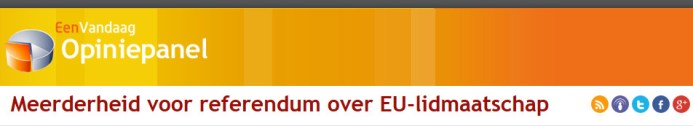 eenvandaag referendum EU lidmaatschap