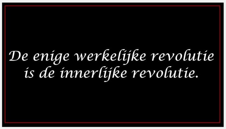 enige-revolutie-werkelijke-revolutie