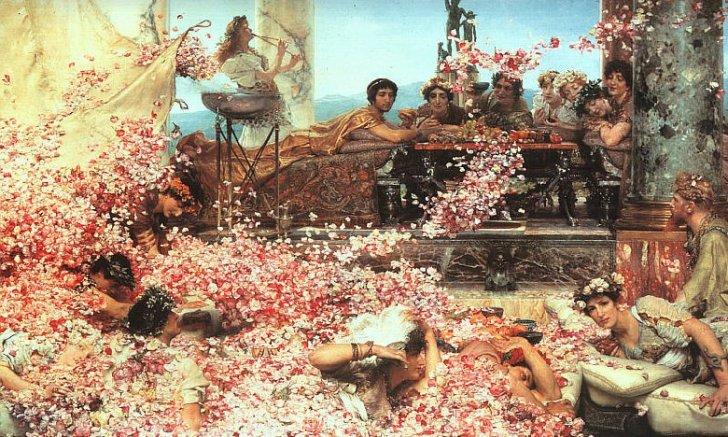 Totale lethargie en verwording van de macht in Rome, bracht het Romeinse Rijk uiteindelijk zélf de genadeklap toe.