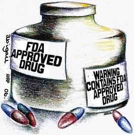 Pas op: Een goedgekeurd medicijn!