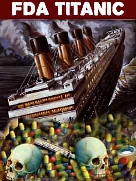 Cartoon die de huidige situatie rondom de FDA karakteriseert!