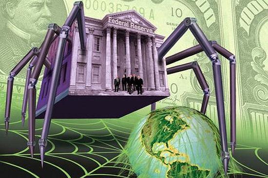 De FED, eigenaar van de Amerikaanse dollar (!!), is een gedrocht geworden, dat met name de US-dollar wereldwijd als machtsmiddel heeft ingezet.. Tegenstanders (zoals Khadaffi in Libië) werden een kopje kleiner gemaakt. Onder valse voorwendselen, natuurlijk..