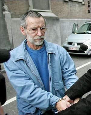 De man die Sandra al had gezien in haar visioen rondom de moordenaar van verschillende mensen, Michel Fourniret.