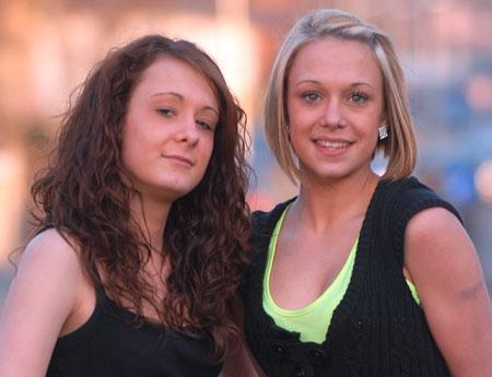 Gemma en Leanne Houghton, bewijs van een speciale band..