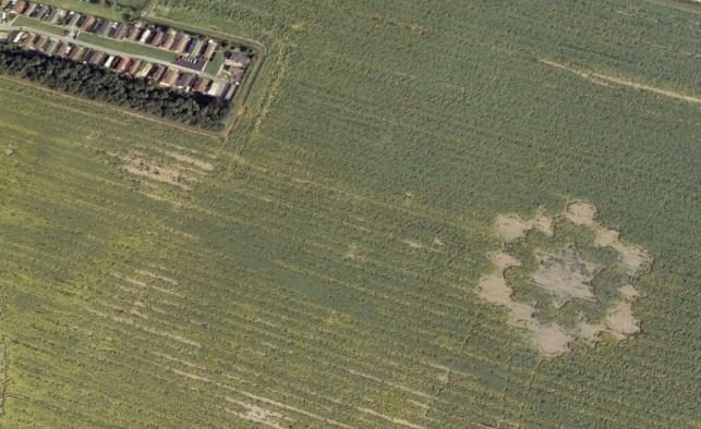 En de formatie van Avebury Henge, zoals je die ook hierboven in het artikel in de 'graanuitvoering' kunt zien.