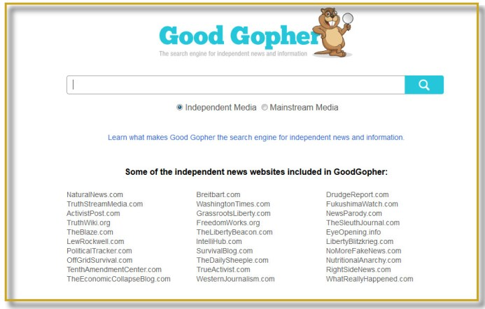 good gopher logo en homepage