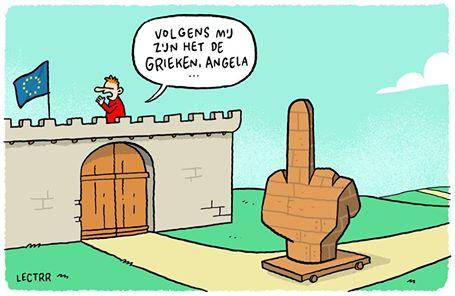 grieken Trojan Finger