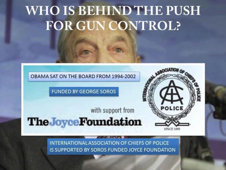 Over George Soros gesproken.. Wist je dat één van zijn 'Ideële stichtingen' achter de ontwapening van Amerikaanse burgers zit..? Tja, die schietpartijen in de VS, die een wapenverbod tot gevolg zouden moeten hebben, staan dan toch ook nieens in een ander licht..!!