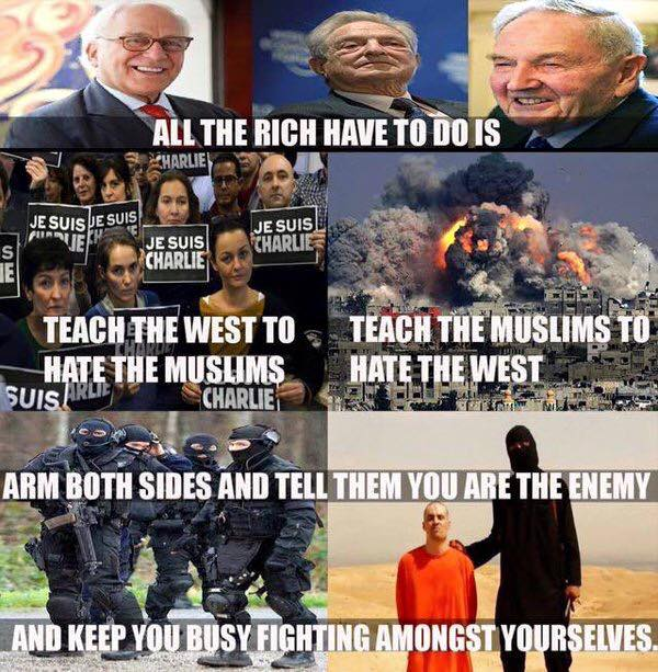 hate muslims hate the west