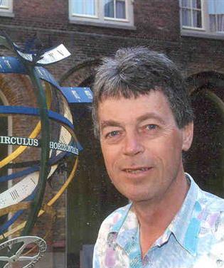 Dr. Herbert van Erkelens, metafysisch onderzoeker.