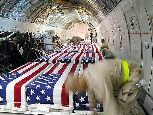 Irak: 4000 VS-militairen dood en 30.000 VS-gewonden.