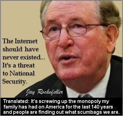 jay rockefeller monopoly internet