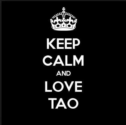 keep calm and love TAO