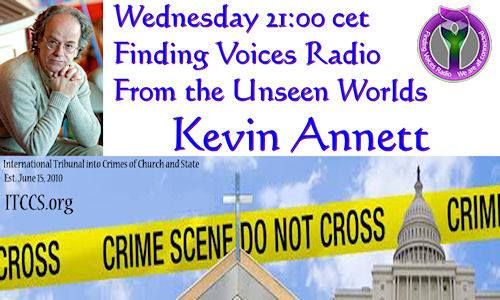kevin annett finding voices radio