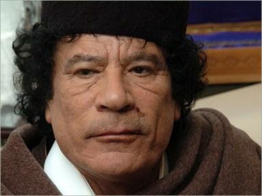 Mohammar Khadaffi, Libische leider, dictator en heeeel goed voor zijn volk..! Waarom moest ie weg dan..