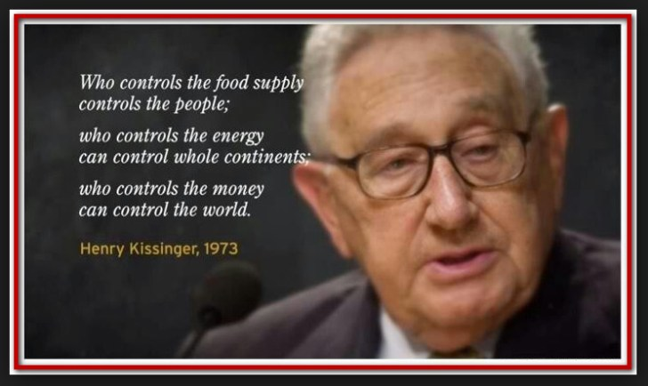 kissinger food supply