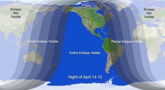 lunar eclips 14 15 april