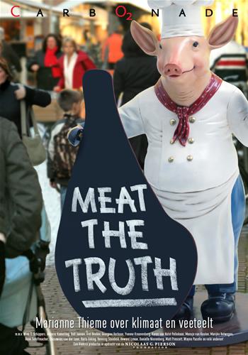 Vooral de overmatige vleesconsumptie lijkt niet meer van deze tijd. Niet alleen vanuit persoonlijk oogpunt, wat steeds meer blijkt, maar ook de consequenties voor het leven op Aarde zijn substantieel! (klik op het plaatje voor de film 'Meat the Truth'
