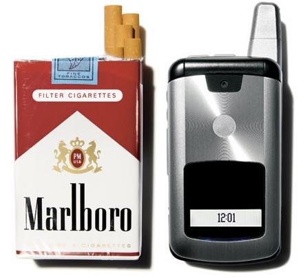 Roken veroorzaakt kanker, dat moet op de pakjes.. In hoeverre is de mobiele EMS-straling evenzo beschadigend voor