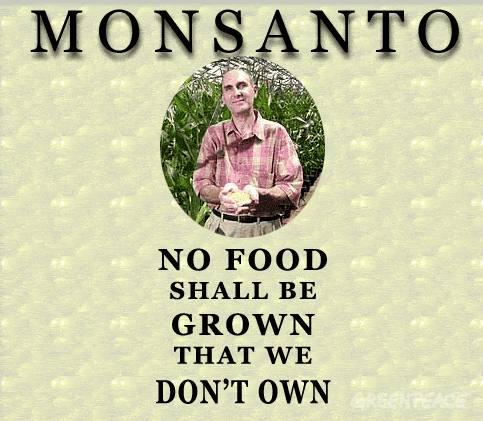 Langzaam maar zeker trekken de Monsanto's van deze wereld het net dicht en komt de waarheid van dit motto dichterbij..