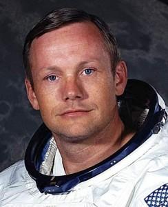 Neil Armstrong (79 jr) in zijn jonge jaren