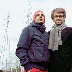 2 Van de 3 Willie Wortels: Nicola Delon en Raphaël Menard (r).
