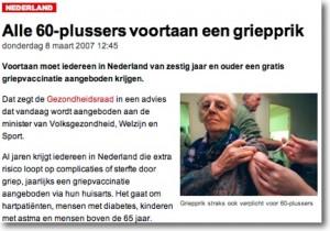 Veel te vaak worden alleen de vermeende positieve kanten van vaccinaties gepubliceerd. Eenzijdige berichtgeving dus; over de zegeningen van de verzorgingstaat gesproken.