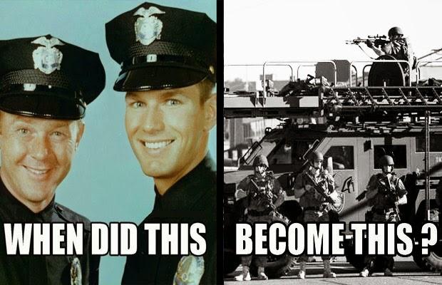 politie verandering in soldaten