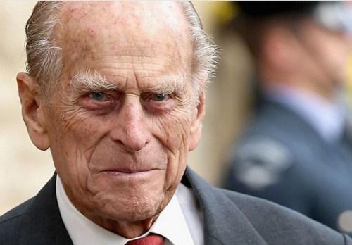 Prins Philip van Engeland.