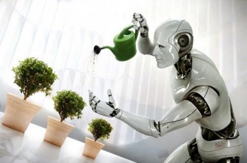 't Is nét een mens, vol compassie voor de plantjes en de beestjes..!