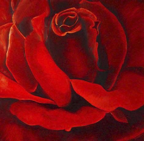 Vanuit het 'NIETS' ontstaat een  prachtige roos; vanuit celdeling onder invloed van LICHT, vanuit haar eigen cellen!