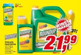 De RoundUp-winstpakker... Jaja, pak je winst.. Of één van de andere heftige ziekten die je van dit spul krijgt. Inclusief onvruchtbaarheid..!