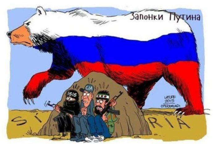 russische beer syrie