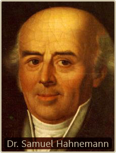 De ontdekker van de homeopathie, Dr. Samuel Hahnemann. De inspanningen van Rockefeller om zijn eigen petroleum-gebaseerde medicijnen te promoten, hadden de homeopathie bijna een doodsteek toegebracht..!